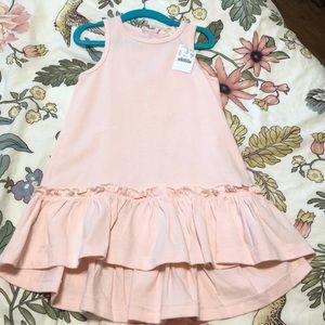NWOT pale pink Crewcuts dress